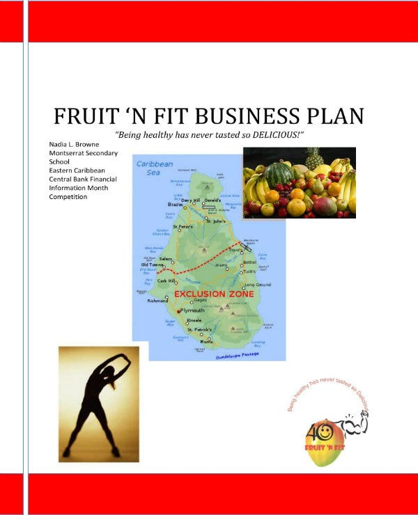 simple juice bar business plan 01