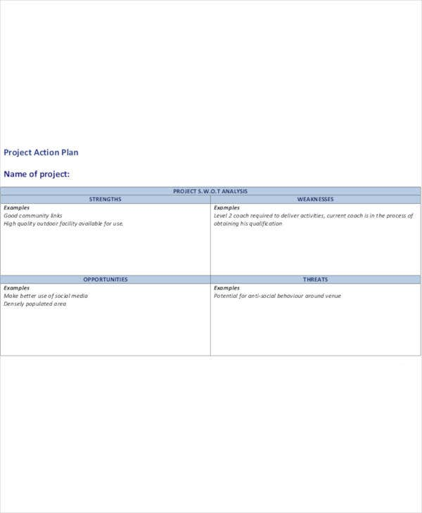 simple project action plan1