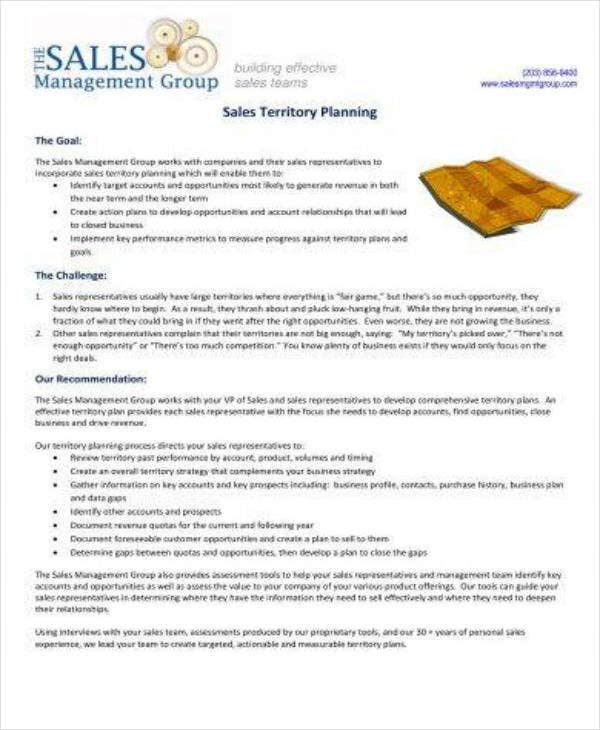 Simple Sales Territory Planning