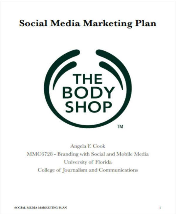 Social Media Marketing Strategy Plan
