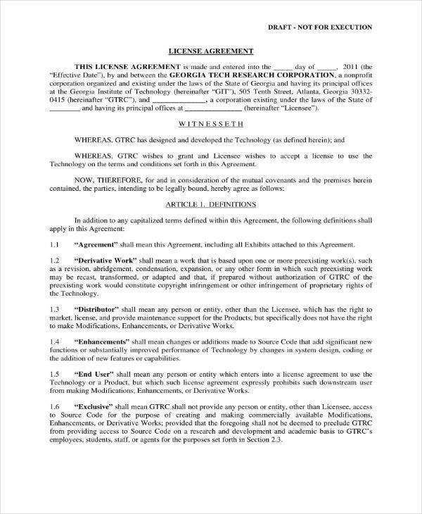 Software Full Rights License Agreement