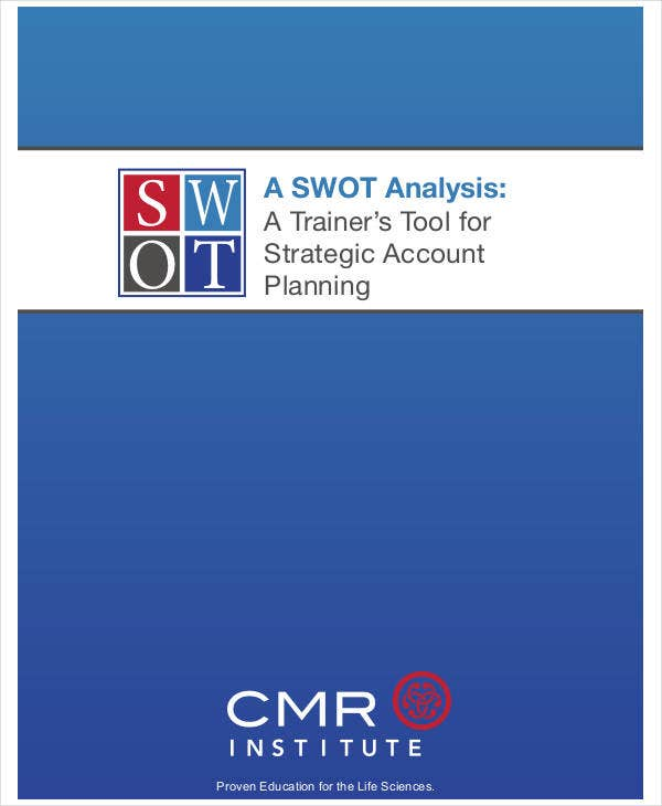 standard business swot analysis