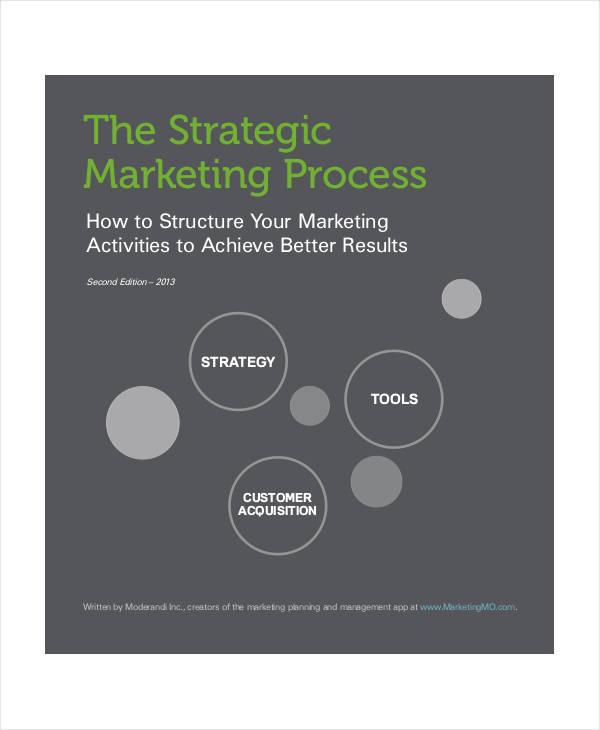 strategic marketing process plan sample