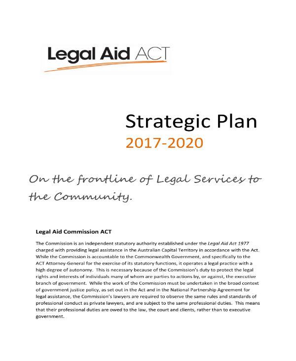 strategic plan 2017 2020 1