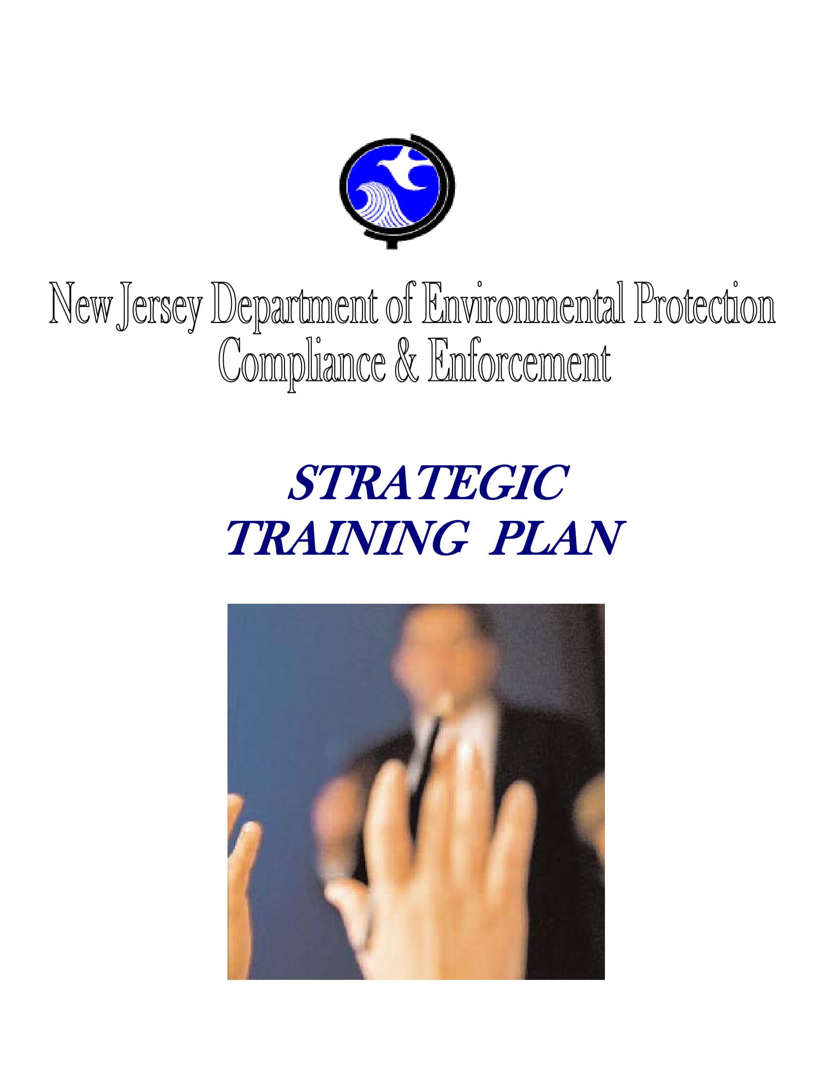 strategic training project plan