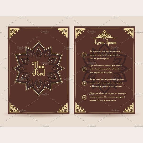thai-food-menu-vector-template