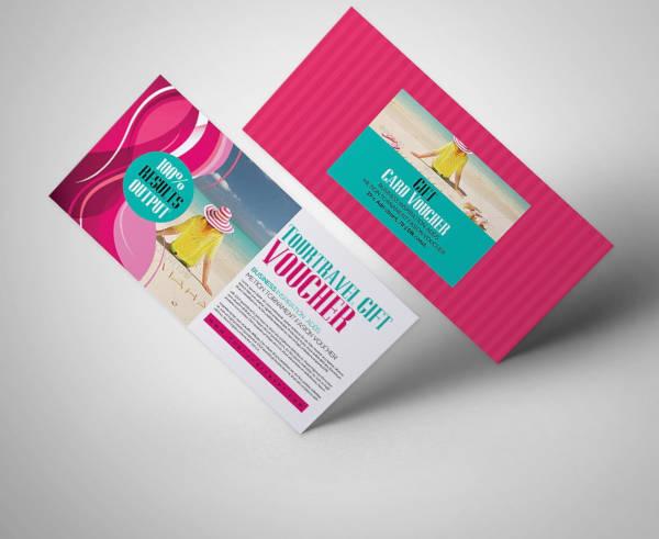 tour travel gift voucher template1