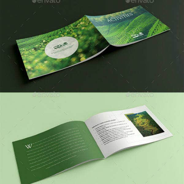 tours travels and resort brochure template