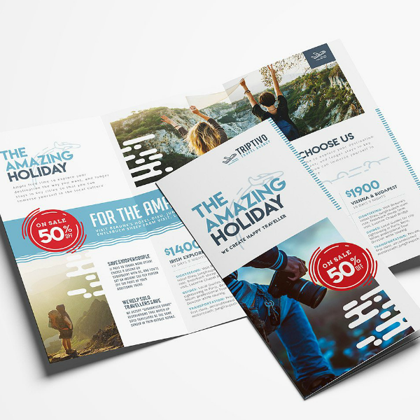 Triptivo Holiday Travel Brochure Template