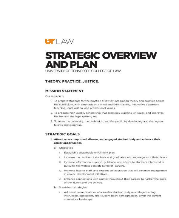 ut law strategic plan 1