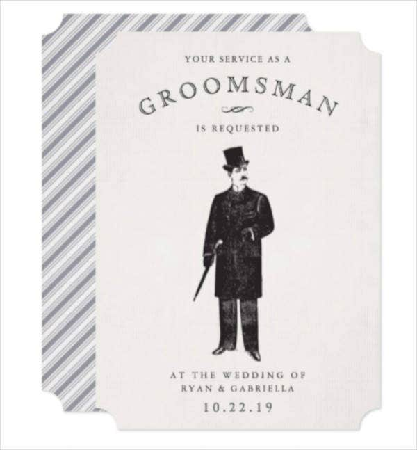 vintage-gent-groomsman-invitation-card-template