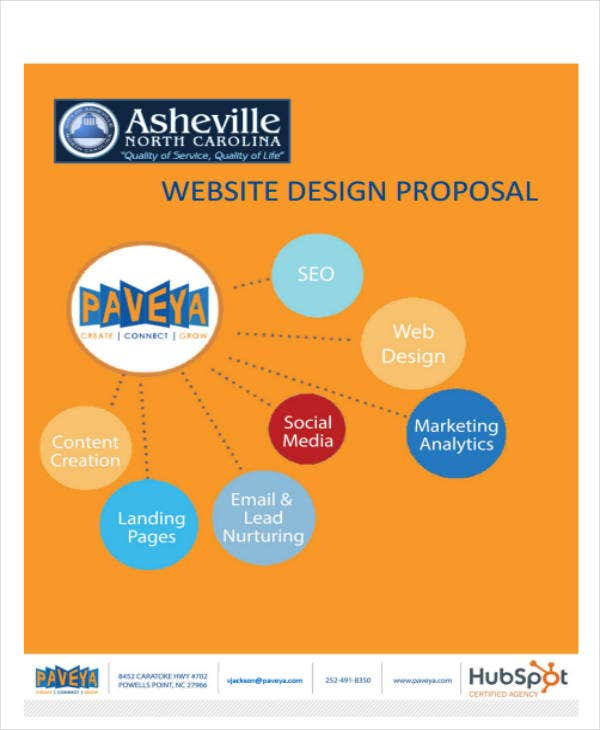 12+ Website Project Proposal Templates - PDF, Word, Pages