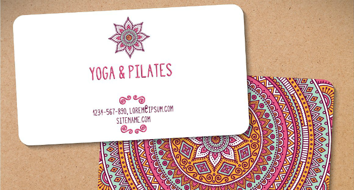 19+ Yoga Instructor Business Card Templates - AI, PSD, Pages