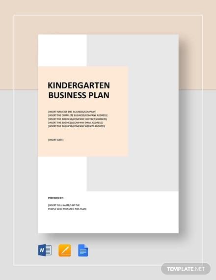 kindergarten business