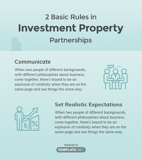 2 Basic Rules in Investment Property Partnerships