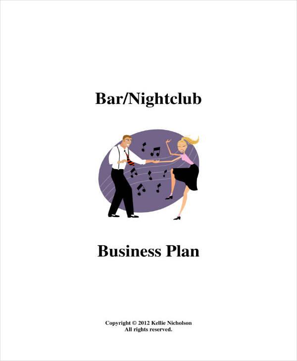 Bar and Nightclub Business Plan