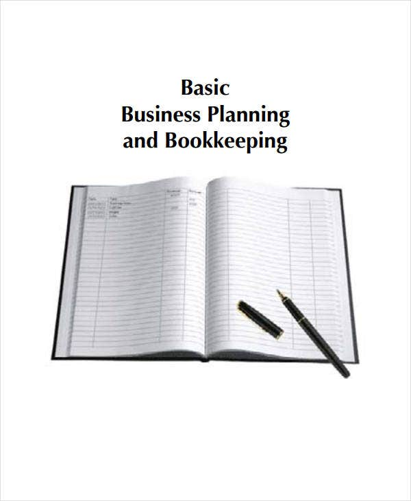 basic business planning and bookkeeping