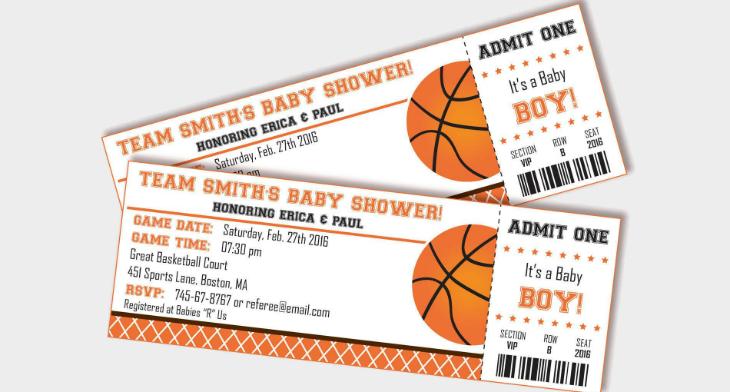 13  basketball ticket invitation card designs  u0026 templates