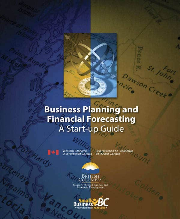 business financial forecasting plan