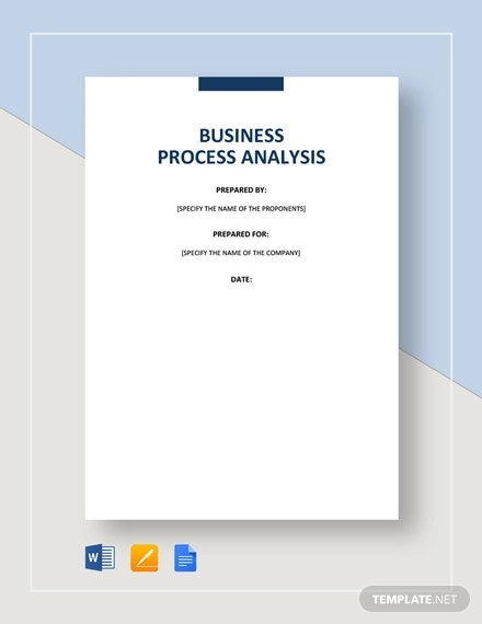 business process analysis template1
