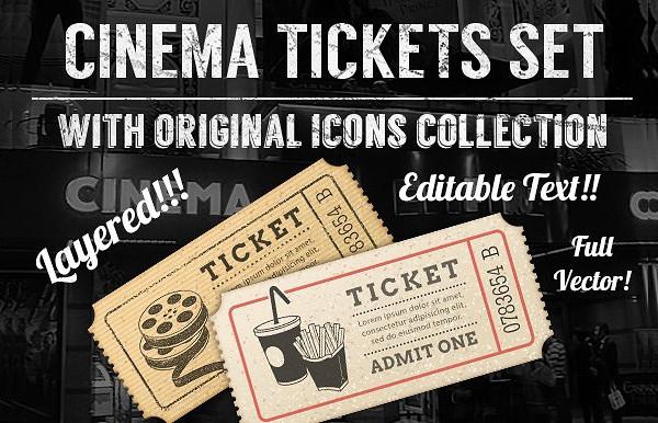 cinema ticket sample template1