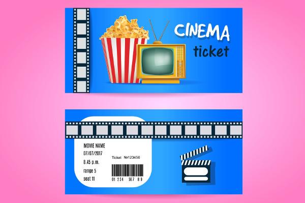 cinema ticket template1