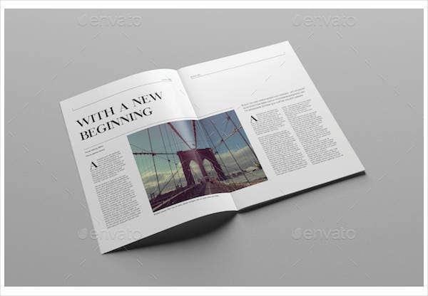 Clean Lifestyle Magazine Template
