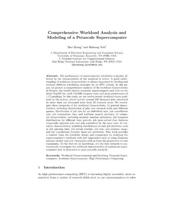 comprehensive workload analysis 01