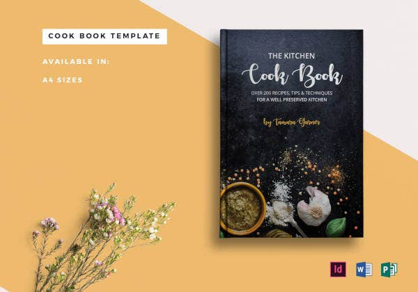 cookbook catalog example