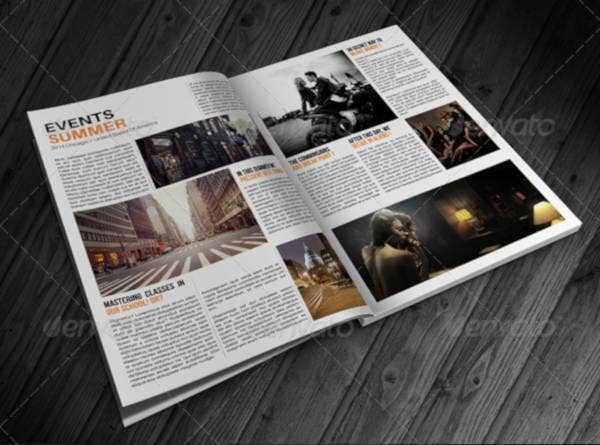 Creative Lifestyle Magazine Template