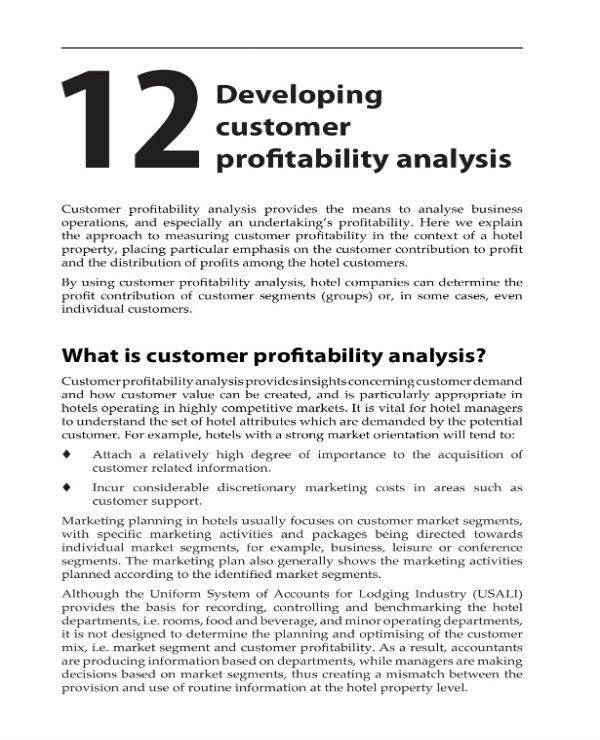 customer profitability analysis guide 1