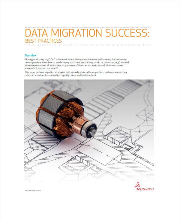 Data Migration Plan Template