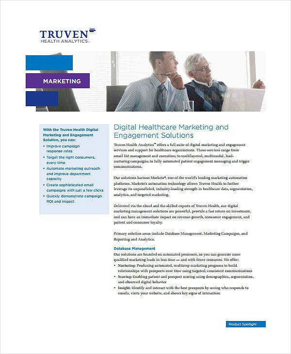 Digital Healthcare Marketing Plan Template