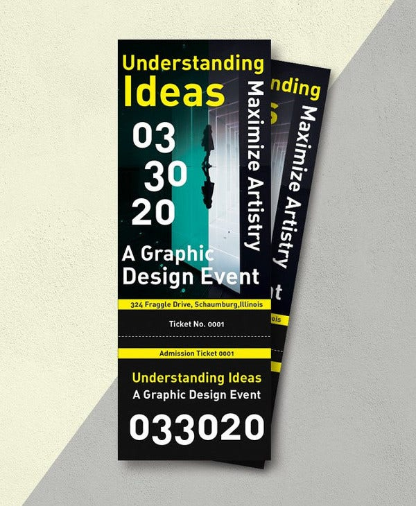 17 Creative Event Ticket Designs Templates PSD AI Word Apple Pages Free Premium Templates