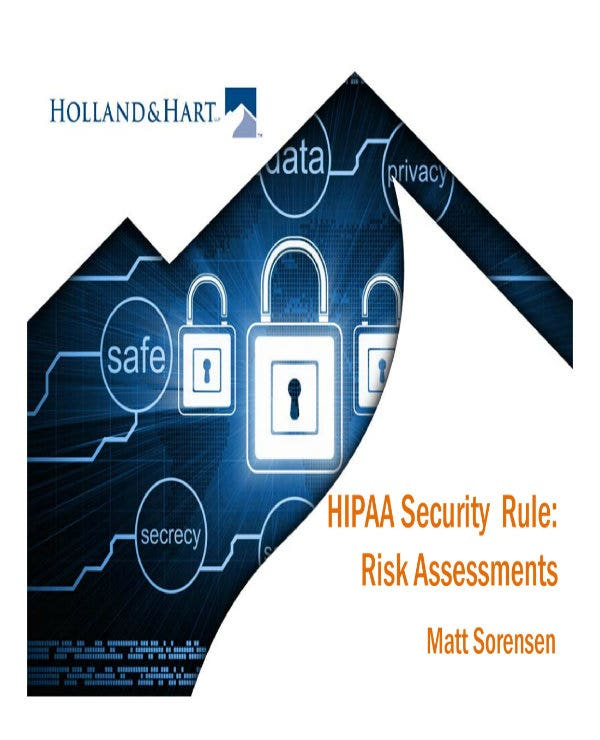 example of hipaa security risk analysis 01