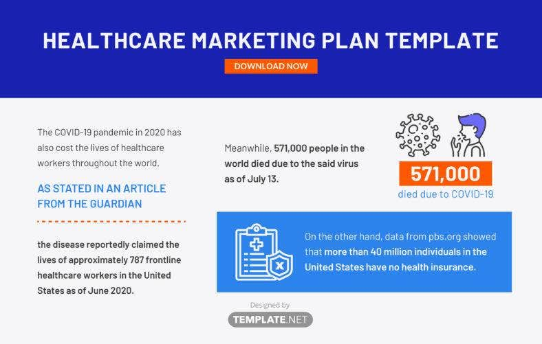 healthcare marketing plan template1 788x501