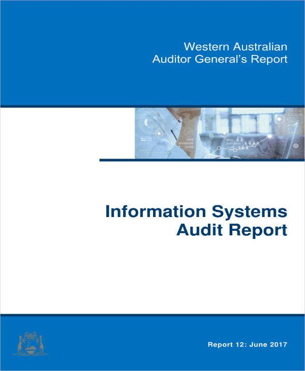 it systems audit report sample