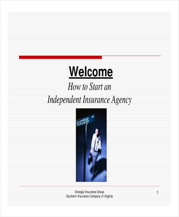 insurance business plan guide