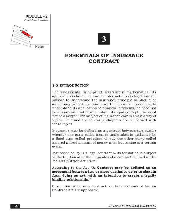 2 Insurance Contract Template Pdf Free Premium Templates