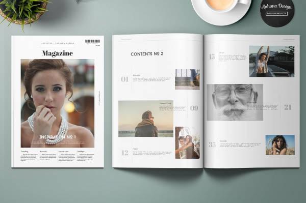 Lifestyle Universal Magazine Design