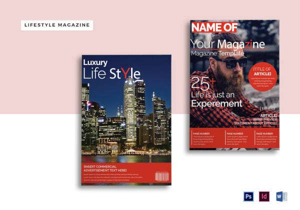 Luxury Lifestyle Magazine Template