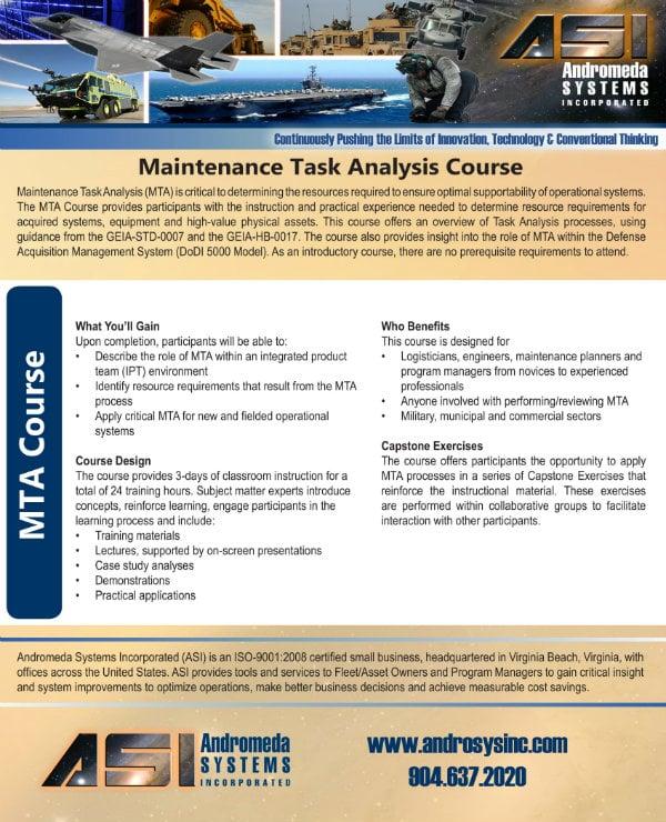 maintenance task analysis guide 1
