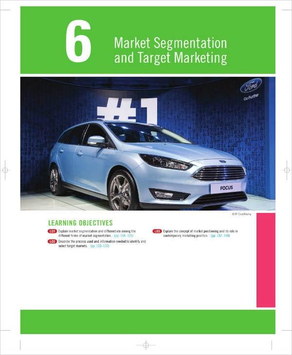 Market Segmentation and Target Marketing Analysis
