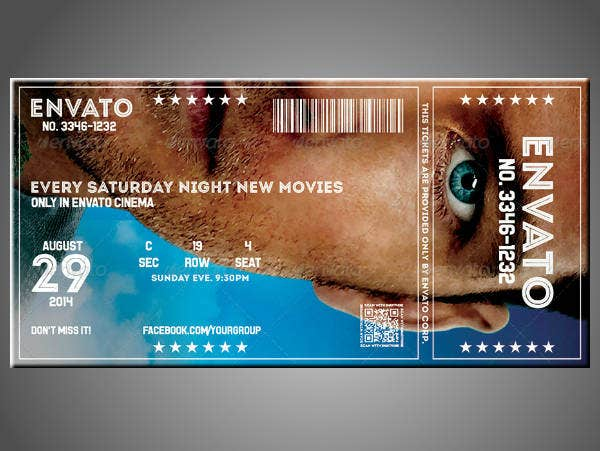 14 multipurpose event ticket designs templates psd ai word