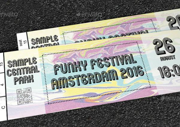 Multipurpose Festival Event Ticket Template