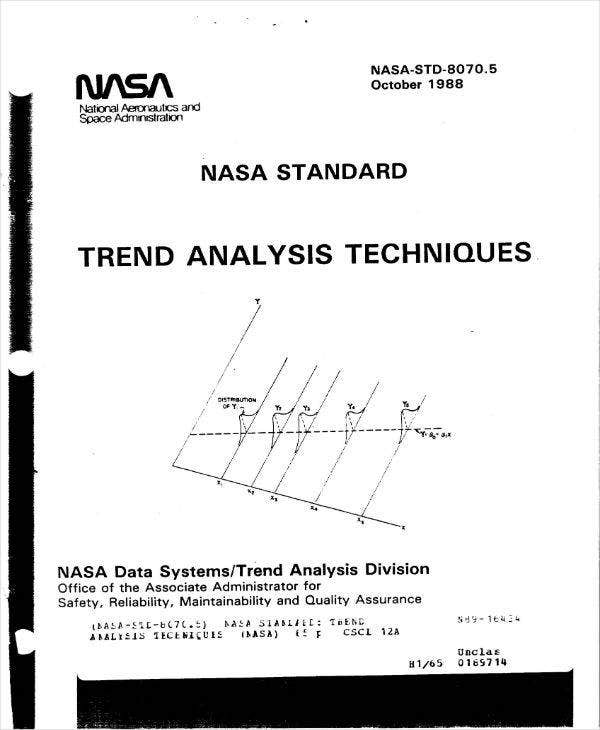 nasa trend analysis example