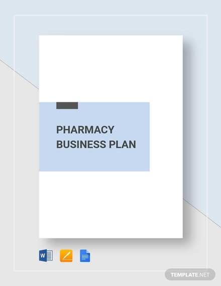 pharmacy business plan template