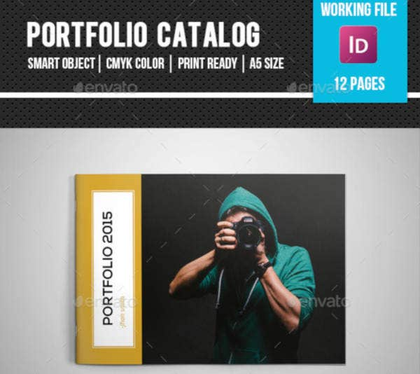 Photography Portfolio Catalog Sample
