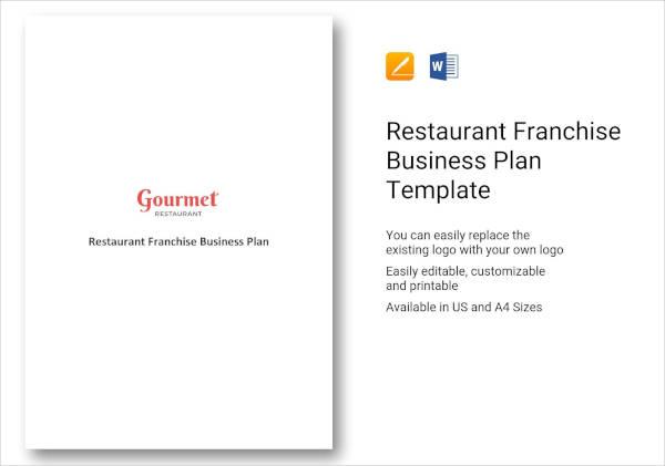Restaurant Franchise Business Plan