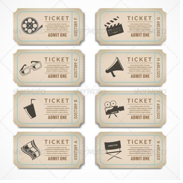 Retro Cinema Tickets